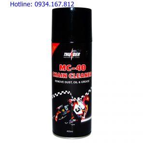 Chai xịt vệ sinh sên Mc - 40 Chanin Cleaner 400ml
