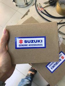 Khóa Chống Trộm Xe Máy Suzuki Chính Hãng