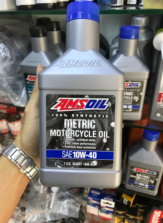 Dầu Nhớt Amsoil 10W40 Synthetic Metric