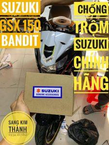 Khoá Chống Trộm Xe Suzuki 150 Bandit