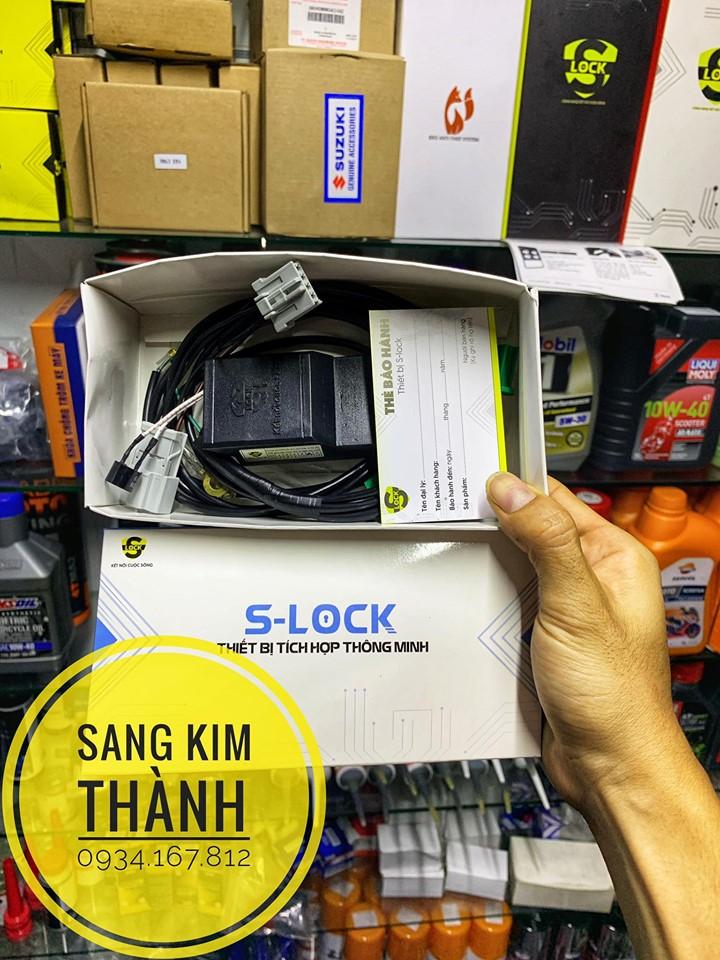 Khoá Slock Chống Trộm Chống Hao Bình Điện Smartkey Honda