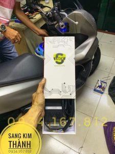 Lắp Khoá Chống Trộm Cướp Xe Honda Pcx 2020